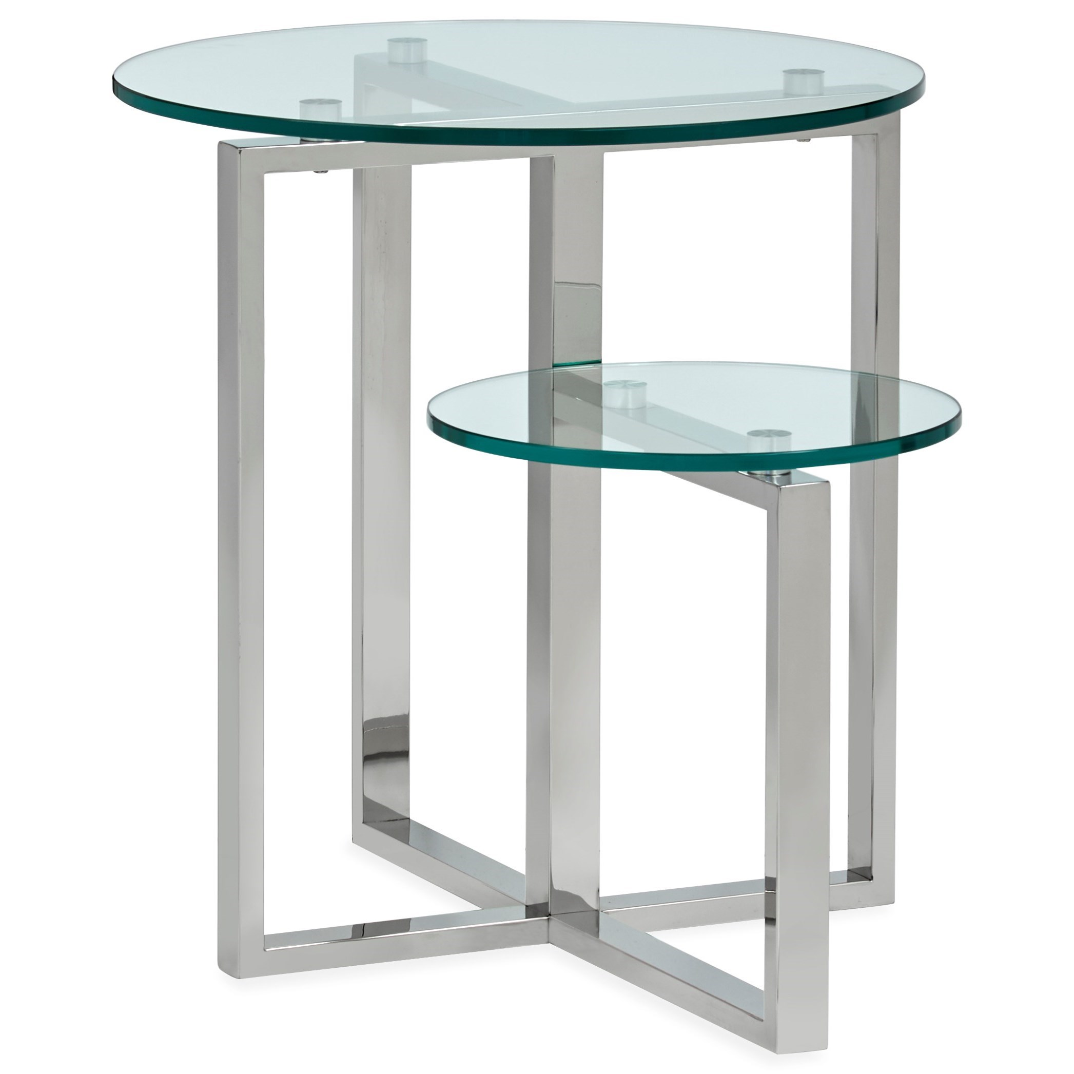 Medlock T5056 Shaped End Table by Magnussen Home at Darvin Furniture