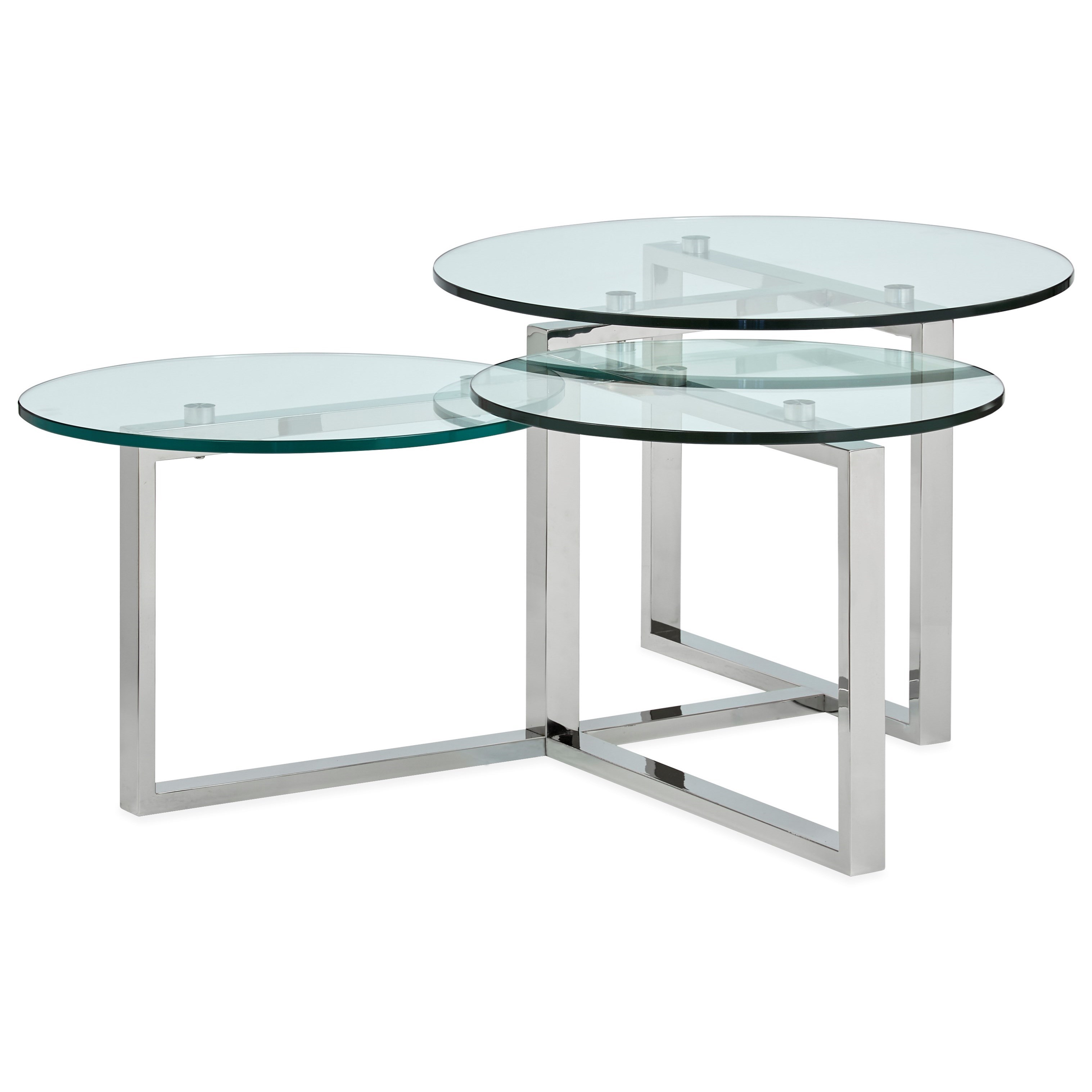 Medlock T5056 Shaped Cocktail Table by Magnussen Home at Darvin Furniture