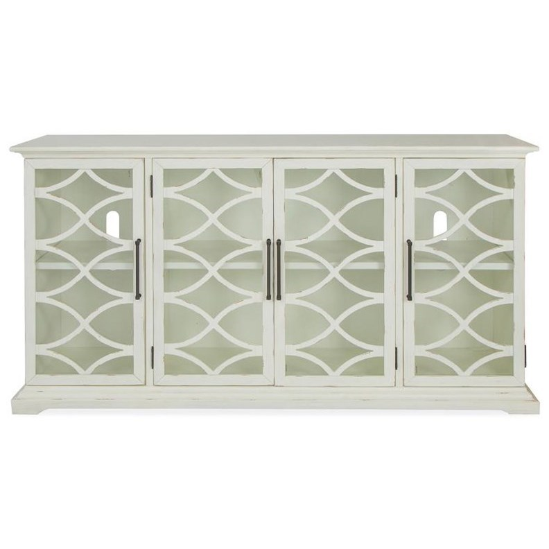 Mosaic - A6022 4-Door Accent Cabinet by Magnussen Home at Stoney Creek Furniture