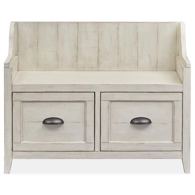 Mosaic - A6035 Storage Bench by Magnussen Home at Stoney Creek Furniture