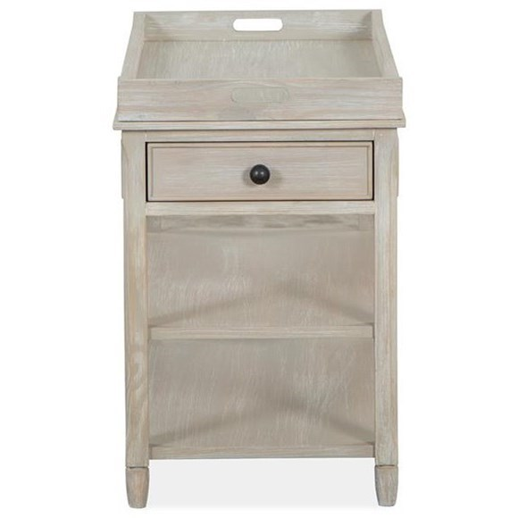 Mosaic Chairside Table by Magnussen Home at Stoney Creek Furniture