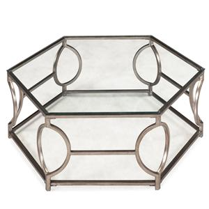 Magnussen Home Nevelson Hexagonal Cocktail Table