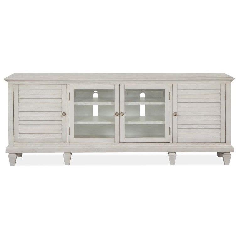 Newport Large Console by Magnussen Home at Furniture Fair - North Carolina