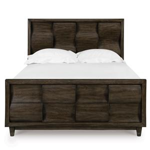Magnussen Home Noma Cal-King Headboard & Footboard Bed