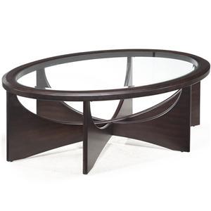 Magnussen Home Okani Oval Cocktail Table