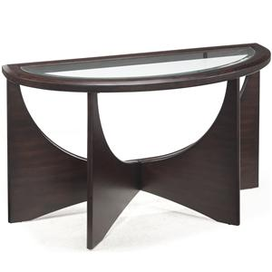 Magnussen Home Okani Demilune Sofa Table