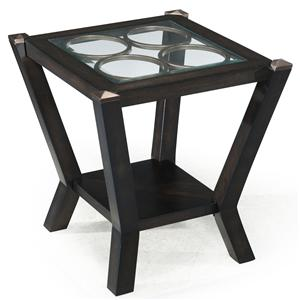 Magnussen Home Olvera Rectangular End Table