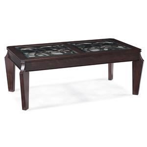 Magnussen Home Ombrio Rectangular Cocktail Table
