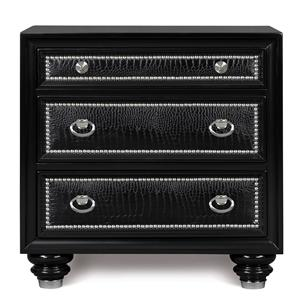 Magnussen Home Onyx Bedroom Drawer Nightstand