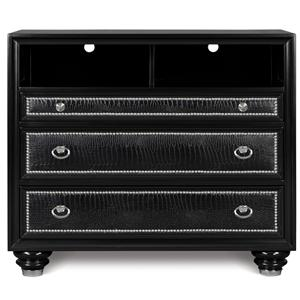 Magnussen Home Onyx Bedroom Media Chest
