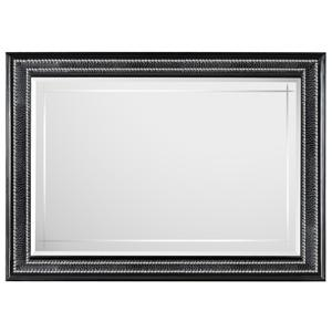 Magnussen Home Onyx Bedroom Landscape Mirror