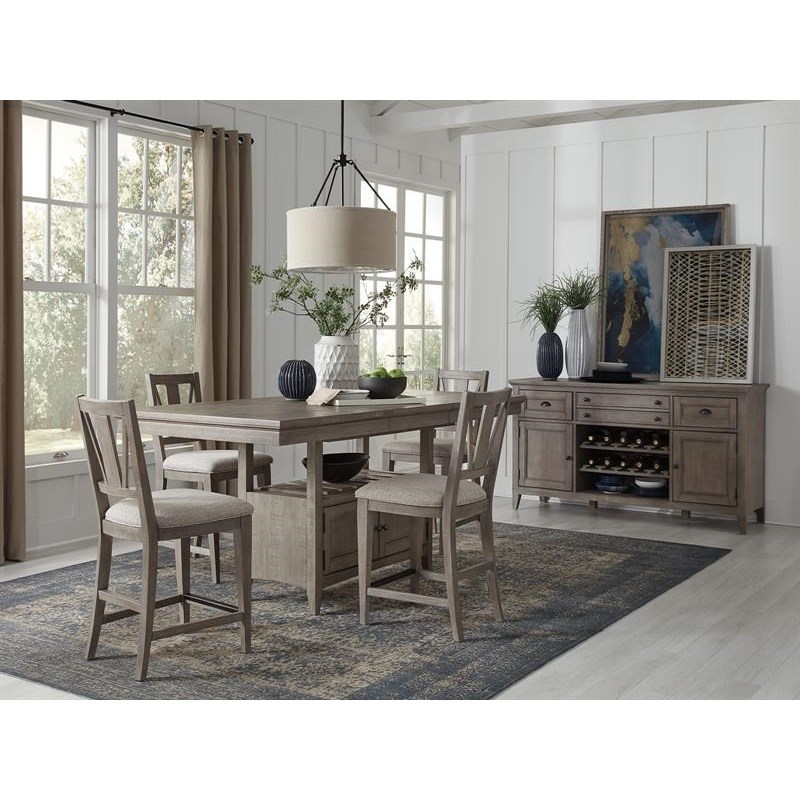 Paxton Place Casual Counter Dining Room Group by Magnussen Home at Stoney Creek Furniture