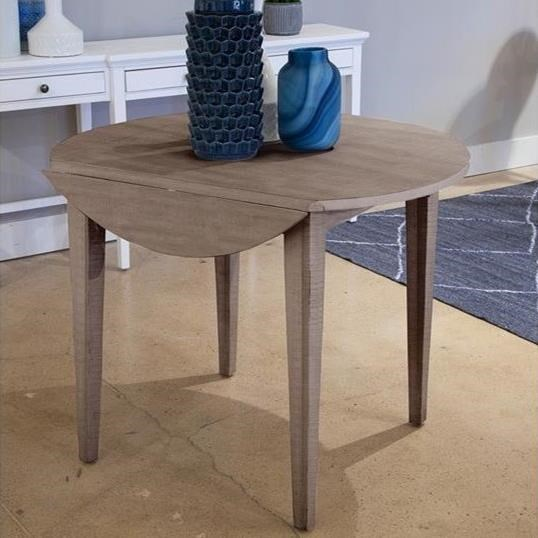 Paxton Place Drop Leaf Dining Table by Magnussen Home at Upper Room Home Furnishings