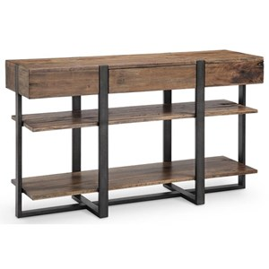 Rectangular Sofa Table with Drawer
