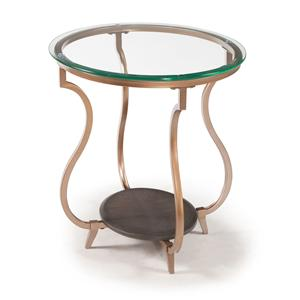Magnussen Home Rachel Oval End Table