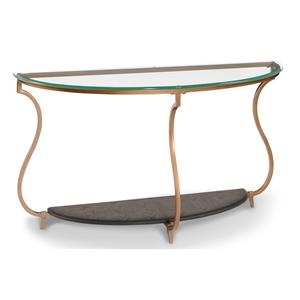 Magnussen Home Rachel Demilune Sofa Table