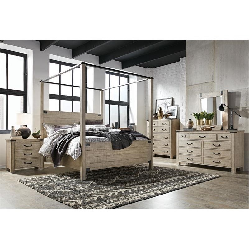 Radcliffe - B5005 7PC Queen Bedroom Group by Magnussen Home at Value City Furniture