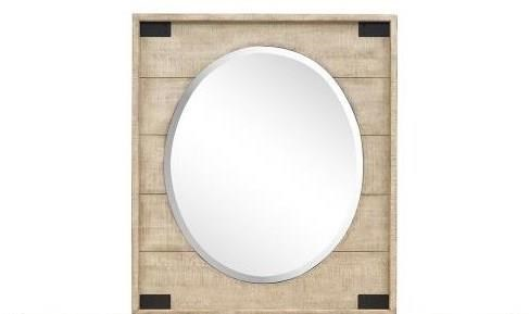Radcliffe - B5005 Portrait Oval Mirror  by Magnussen Home at Value City Furniture