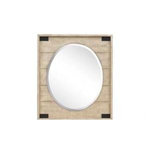 Farmhouse Portrait Oval Mirror