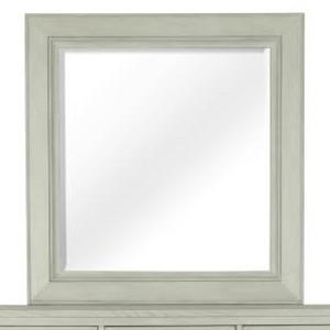 Portrait Concave Framed Mirror