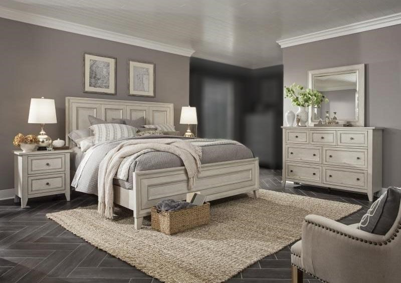 Reighley 2 4PC Queen Bedroom Set by Magnussen Home at Rotmans
