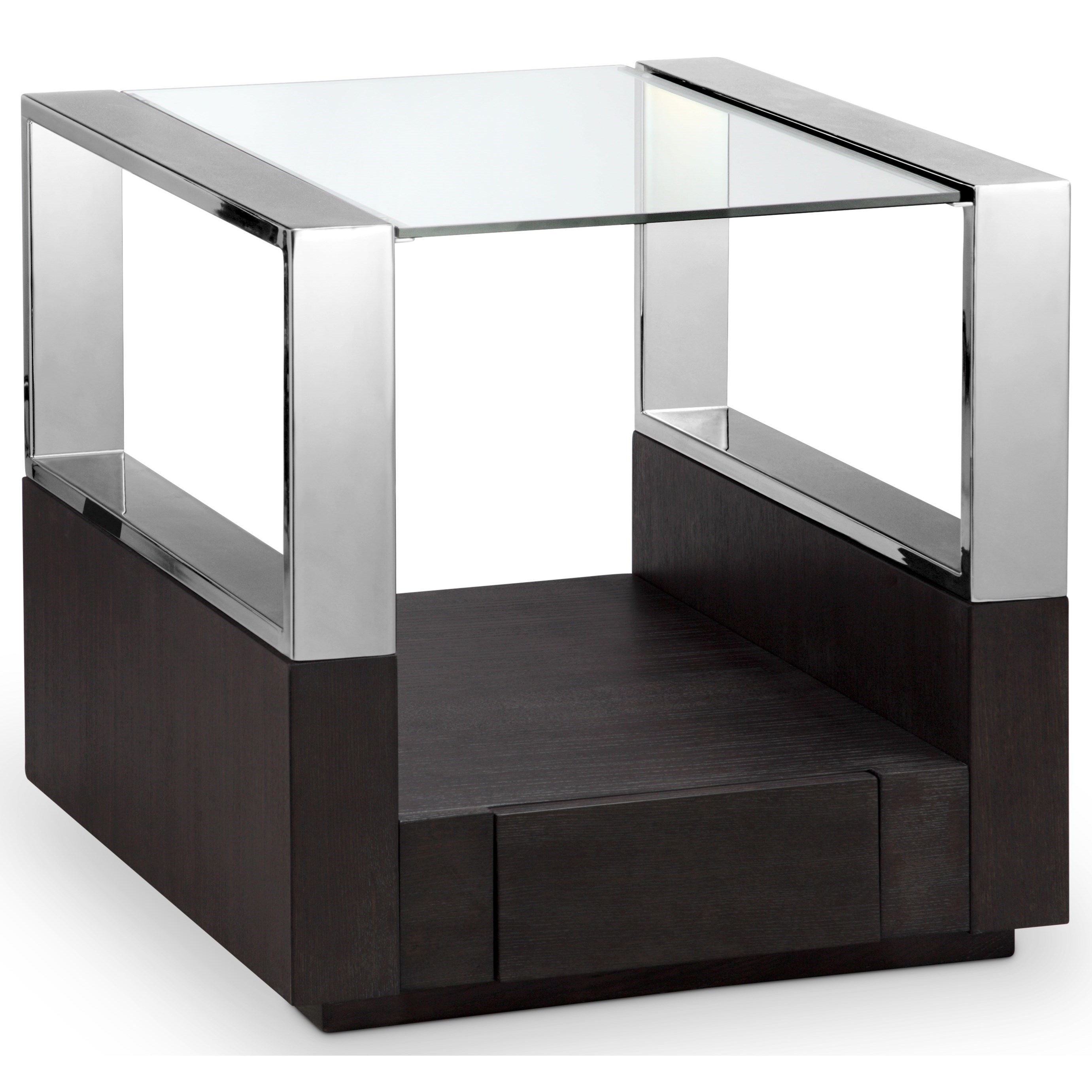 Revere MH Rectangular End Table by Magnussen Home at Darvin Furniture