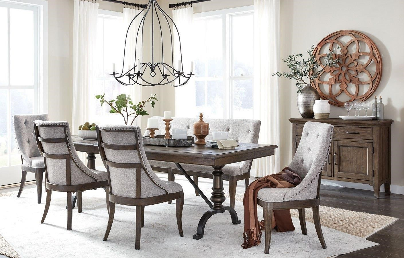 Roxbury Manor 5 Piece Dining Set by Magnussen Home at Darvin Furniture