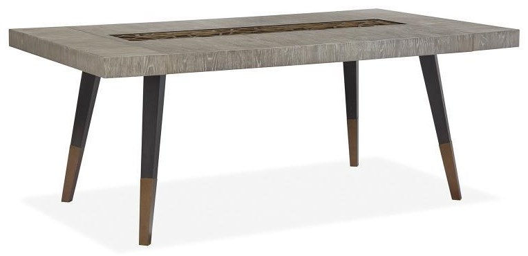 Ryker Rectangular Dining Table by Magnussen Home at Sam Levitz Furniture