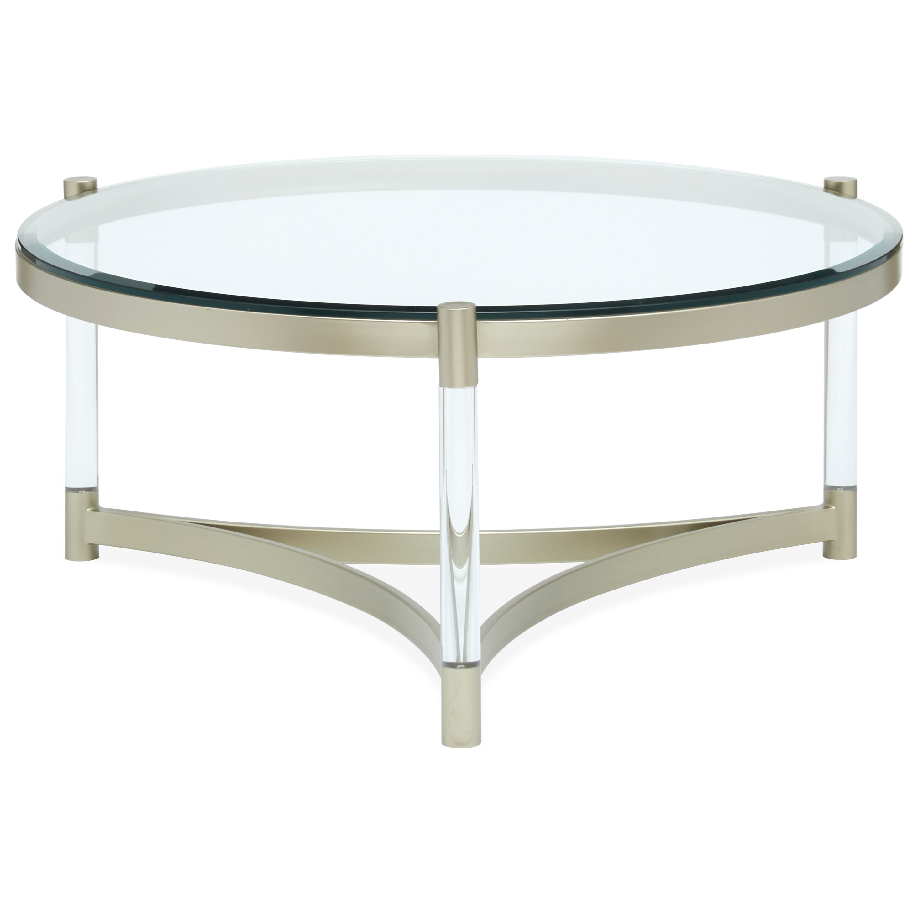 Sonya Sonya Round Cocktail Table by Magnussen Home at Morris Home