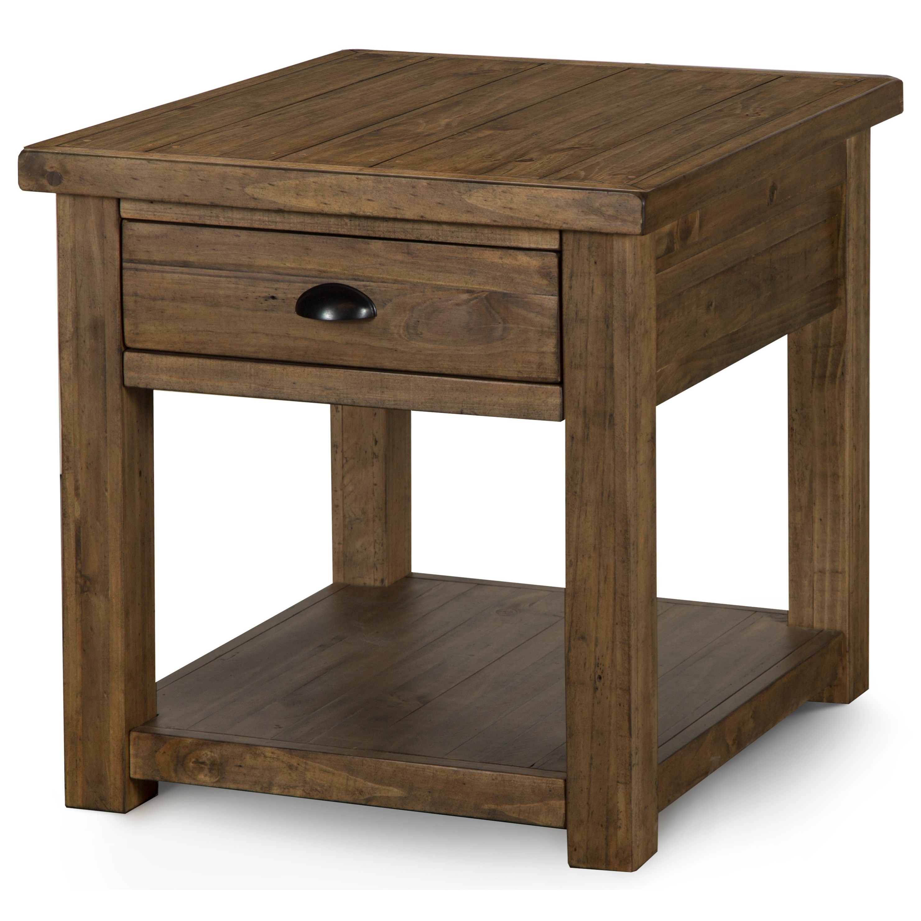 Stratton Rectangular End Table by Magnussen Home at Johnny Janosik