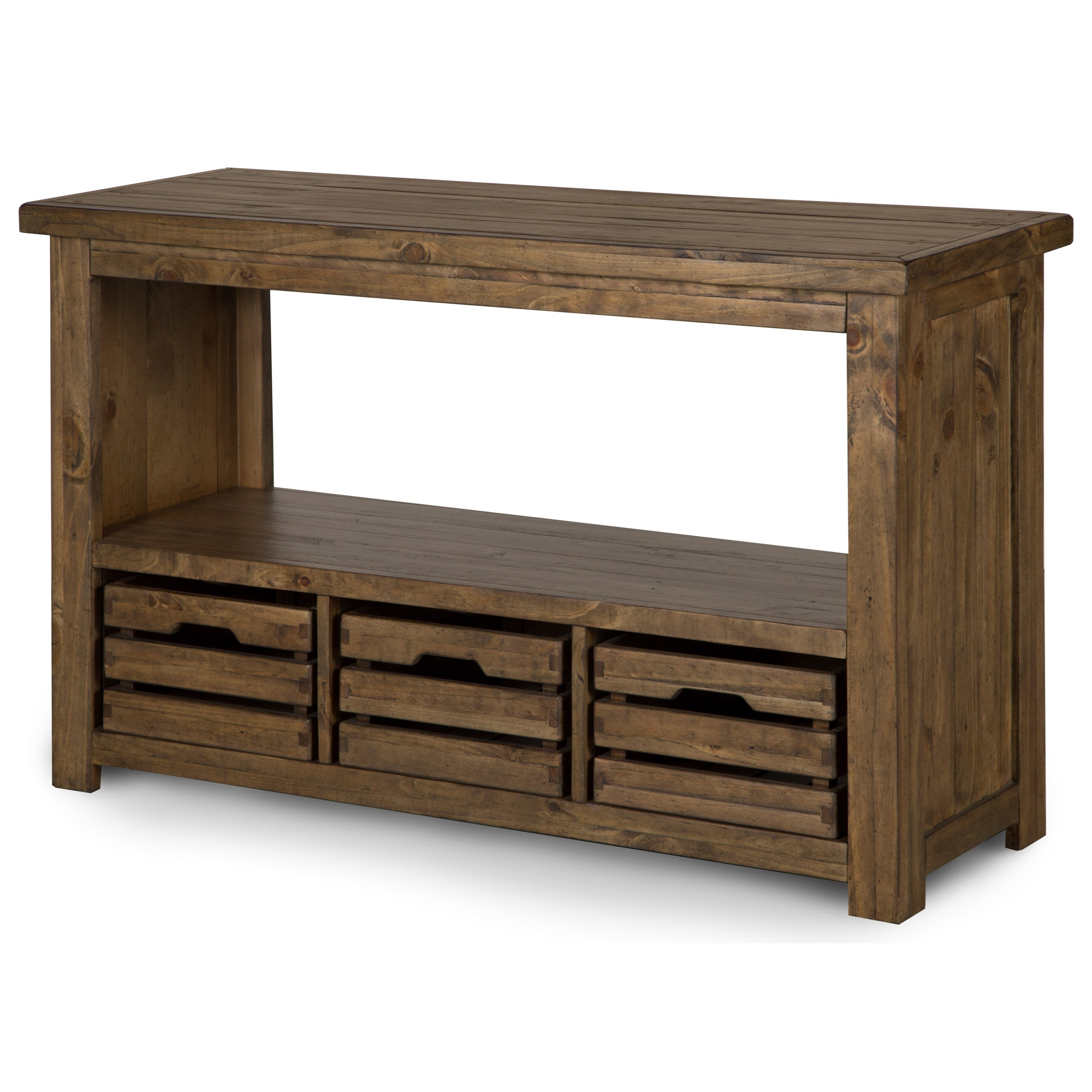 Stratton Rectangular Sofa Table by Magnussen Home at Darvin Furniture