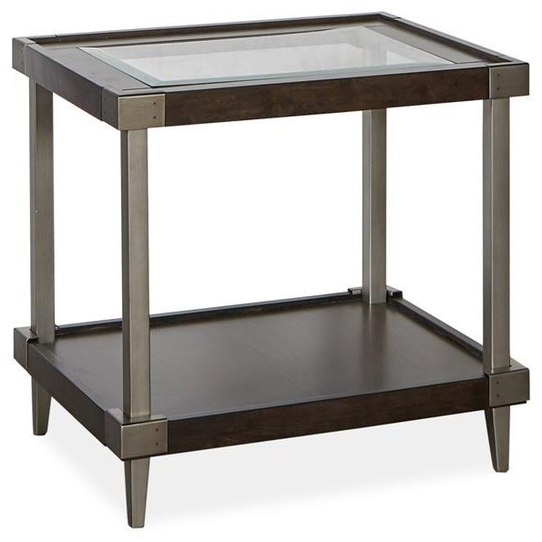 Tamron Rectangular End Table by Magnussen Home at Darvin Furniture