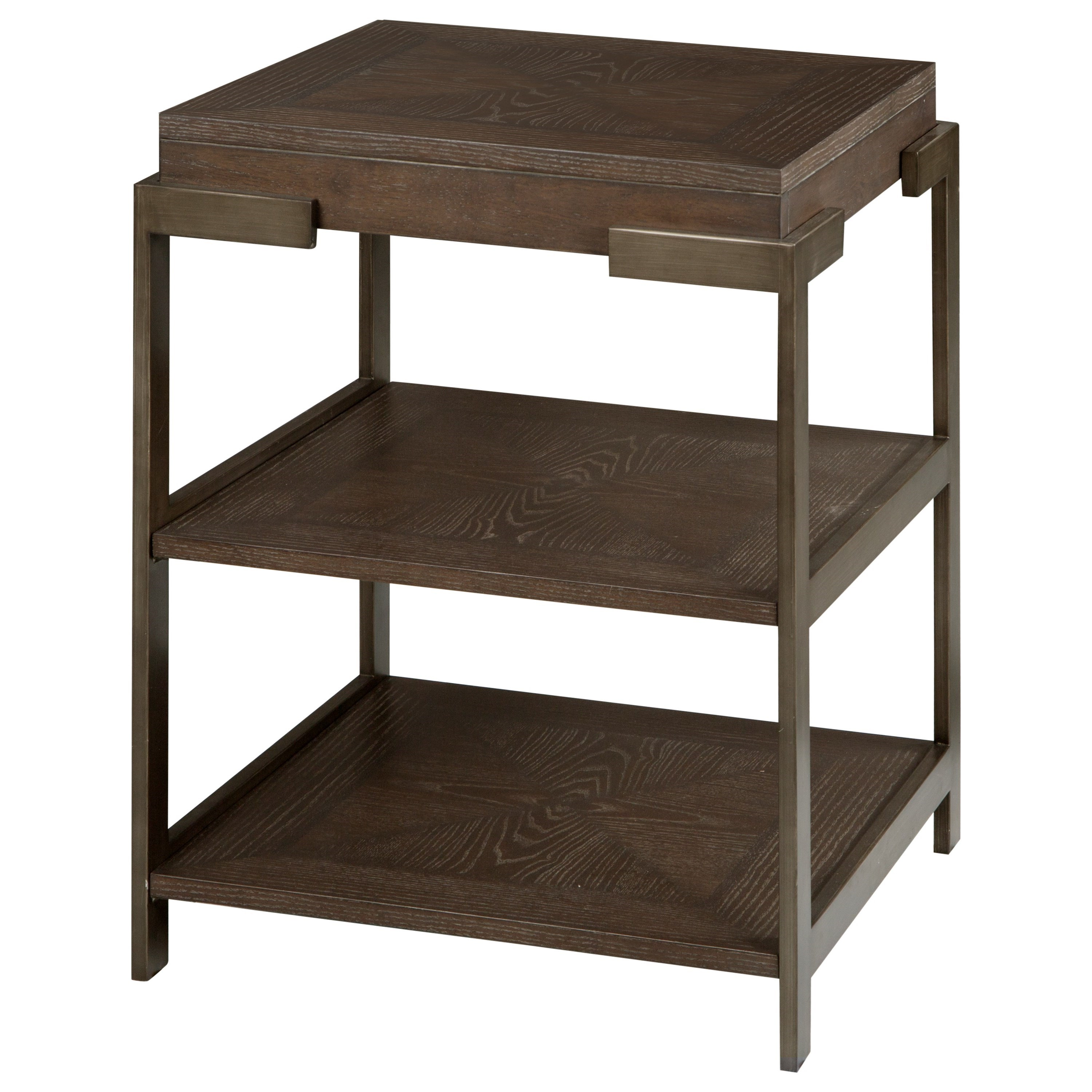 Thorton Square Accent Table by Magnussen Home at Baer's Furniture