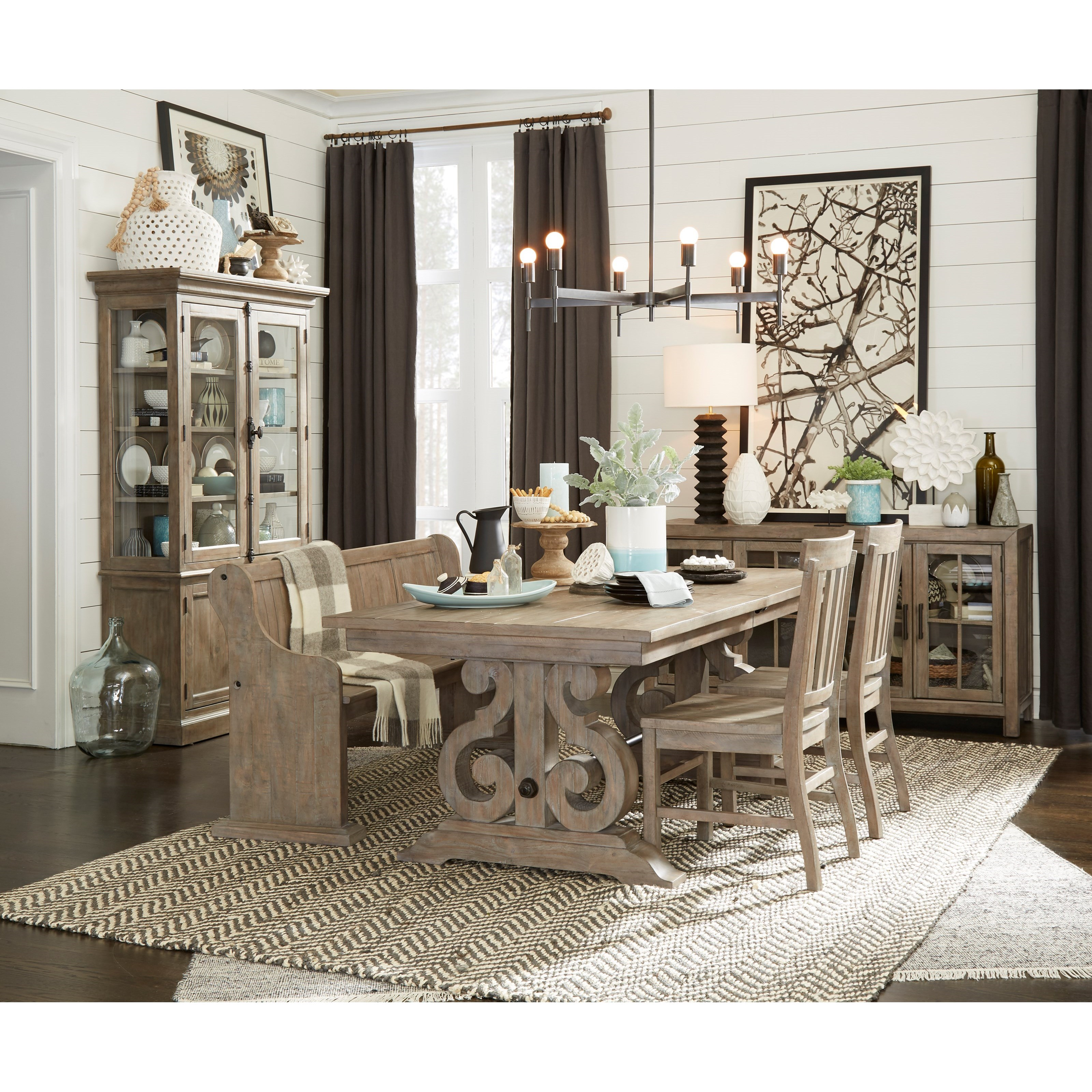 Tinley Park Casual Dining Room Group by Magnussen Home at Baer's Furniture