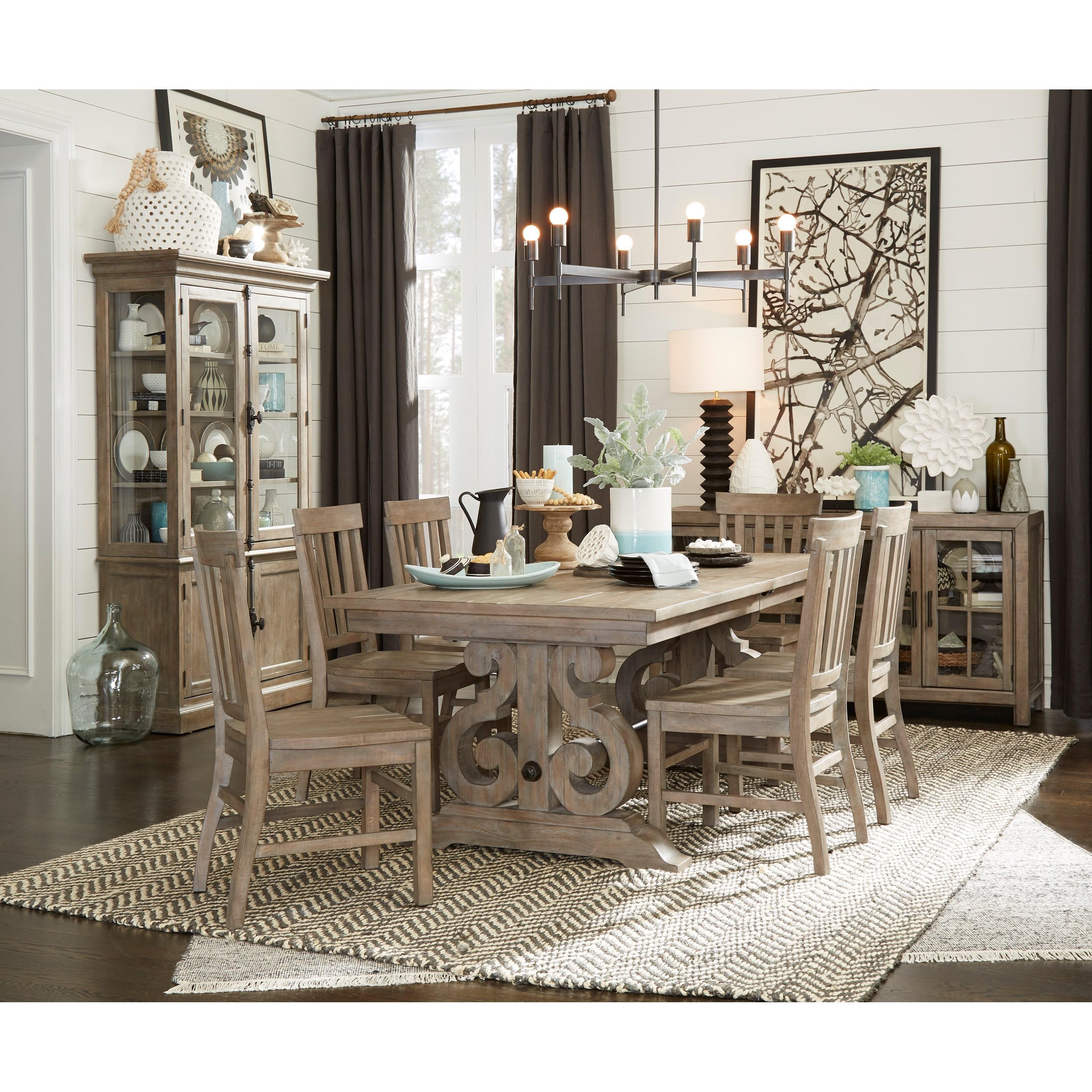 Tinley Park Formal Dining Room Group by Magnussen Home at Baer's Furniture