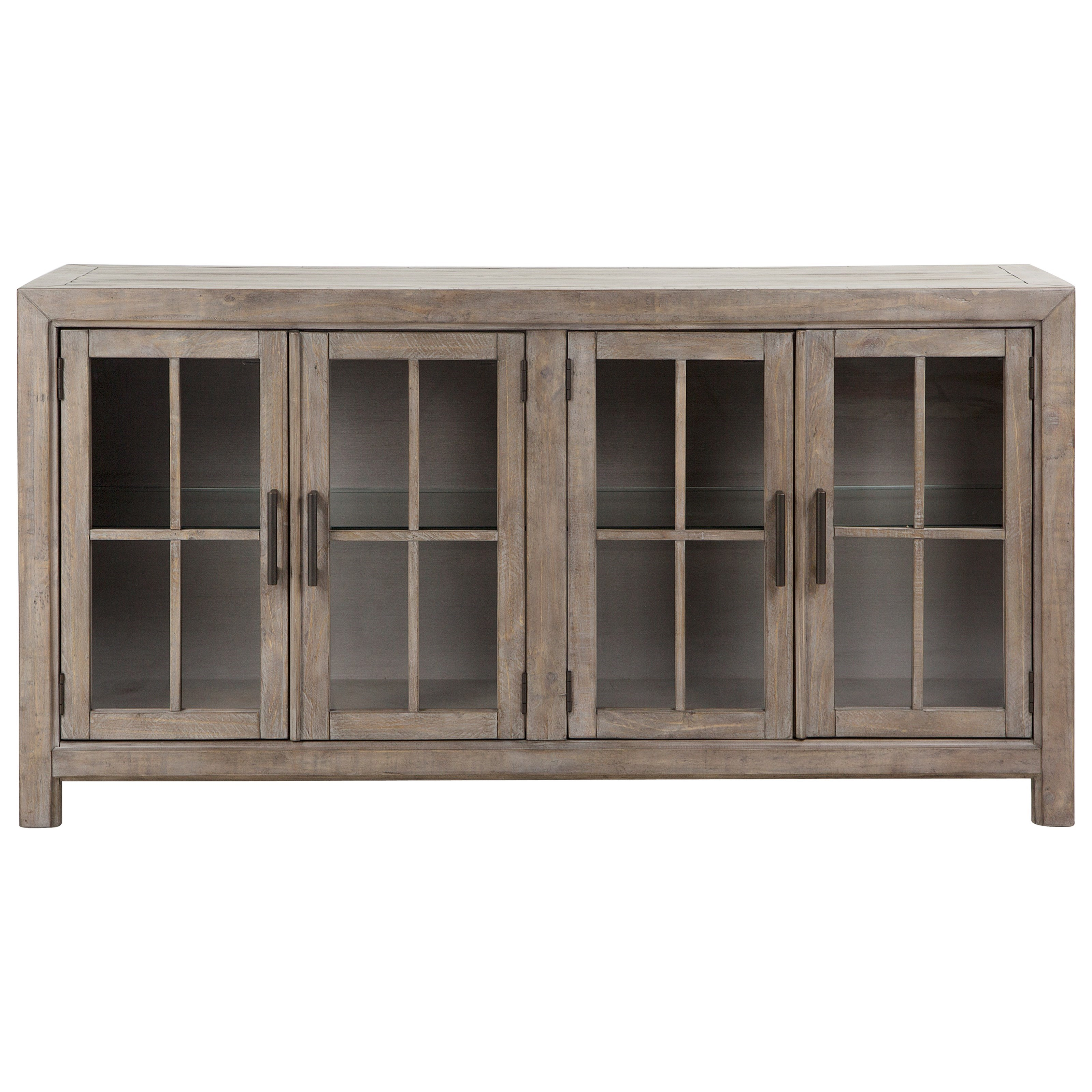 Tinley Park Buffet Curio Cabinet by Magnussen Home at Suburban Furniture