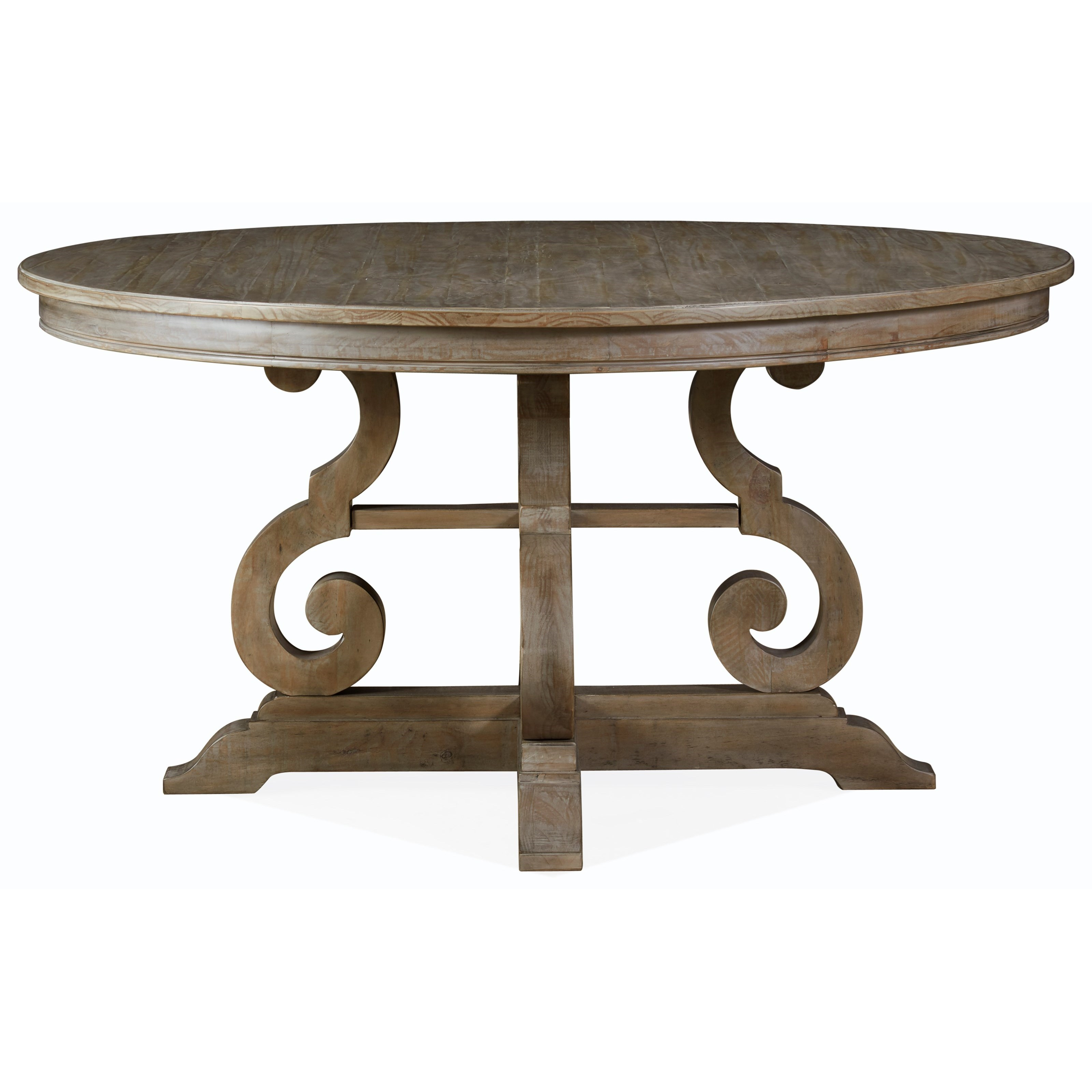 """Tinley Park 60"""" Round Dining Table by Magnussen Home at Baer's Furniture"""