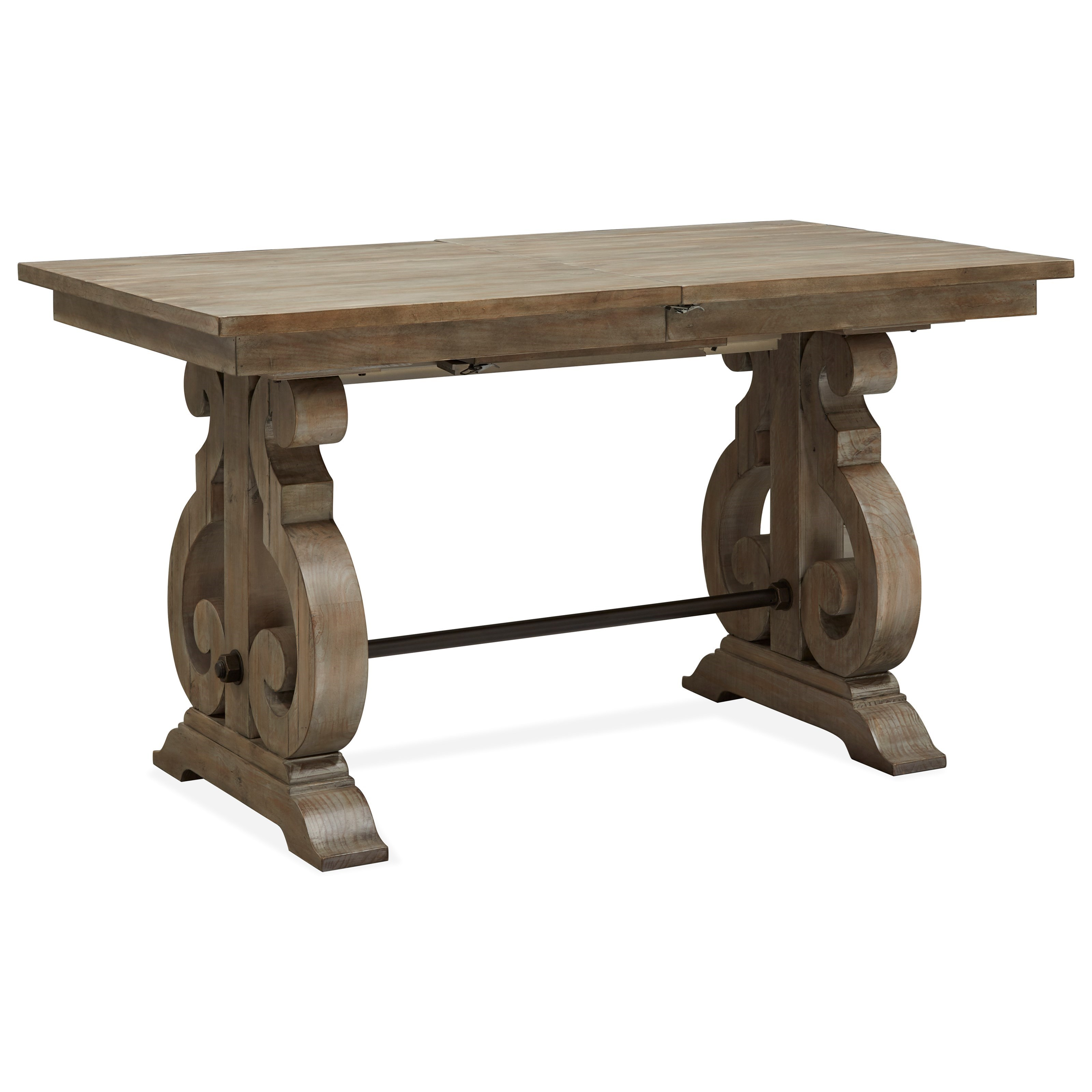 Tinley Park Rectangular Counter Table by Magnussen Home at Baer's Furniture