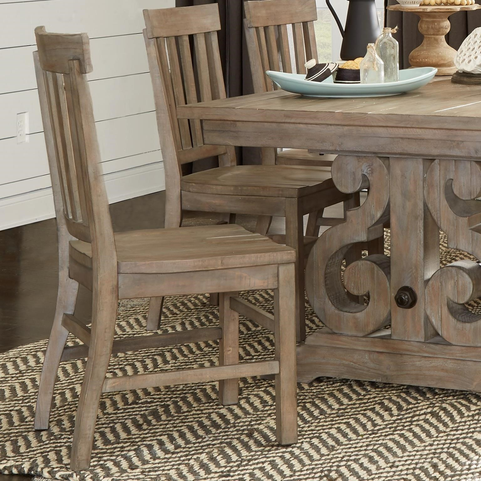 Tinley Park Dining Side Chair by Magnussen Home at Baer's Furniture