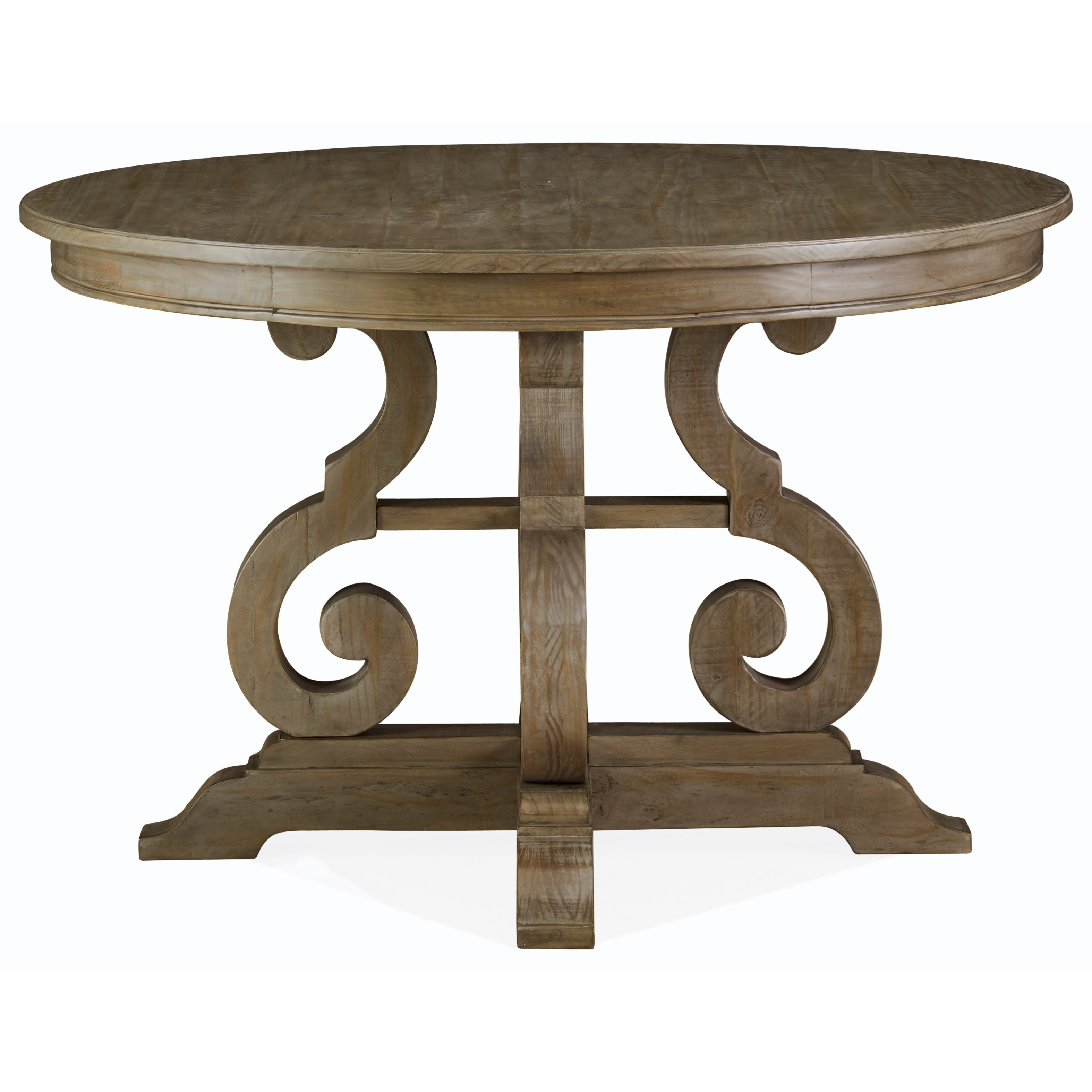 """Tinley Park 48"""" Round Dining Table by Magnussen Home at Baer's Furniture"""
