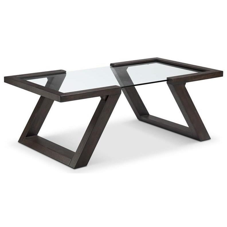 Visby Cocktail Table by Magnussen Home at HomeWorld Furniture