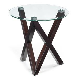 Magnussen Home Visio Round End Table
