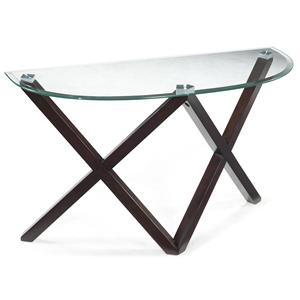 Magnussen Home Visio Demilune Sofa Table