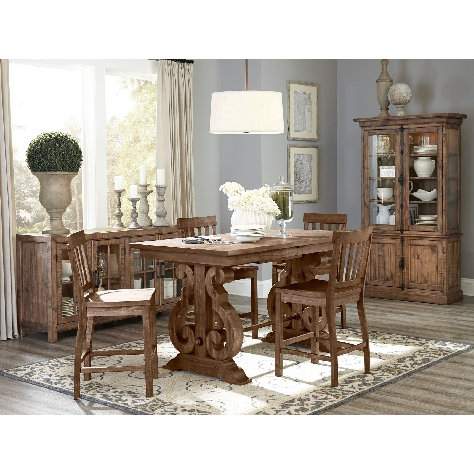 Willoughby Casual Dining Room Group by Magnussen Home at Dunk & Bright Furniture