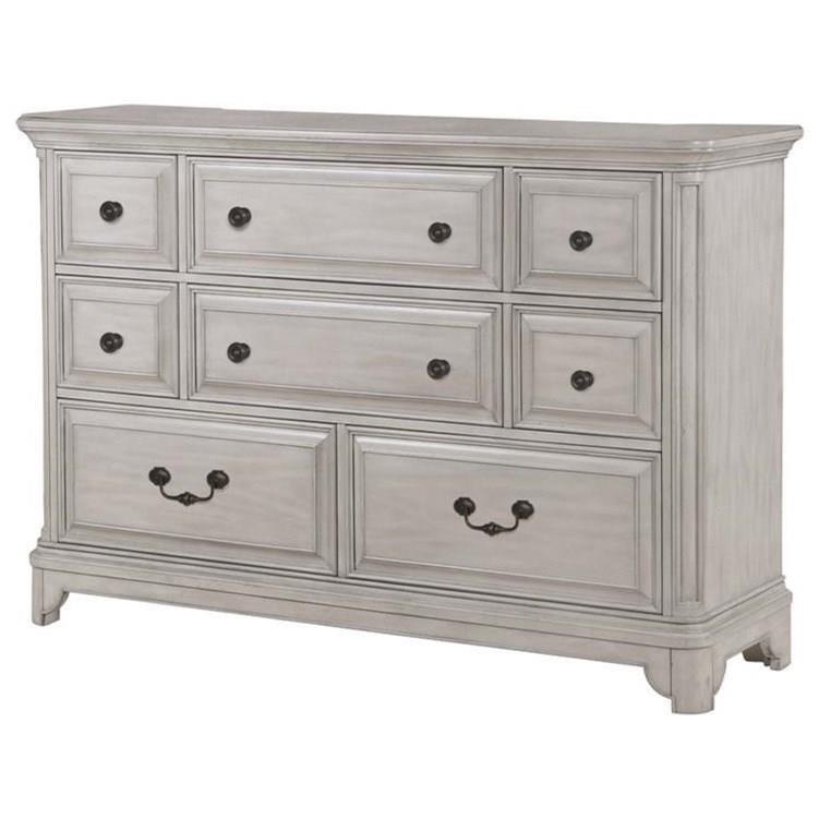 Windsor Lane Drawer Dresser by Magnussen Home at Johnny Janosik