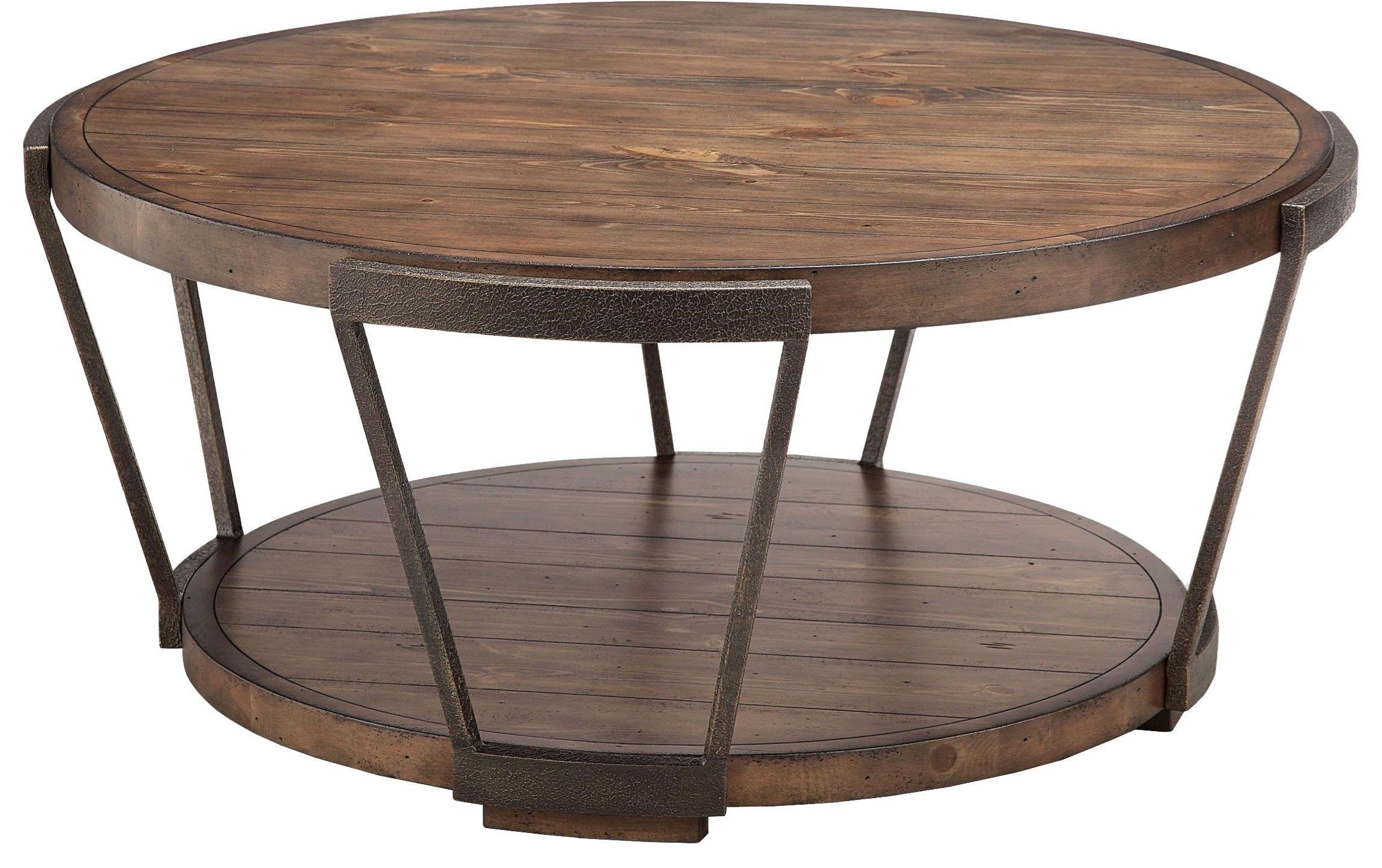 Round Cocktail Table at Sadler's Home Furnishings