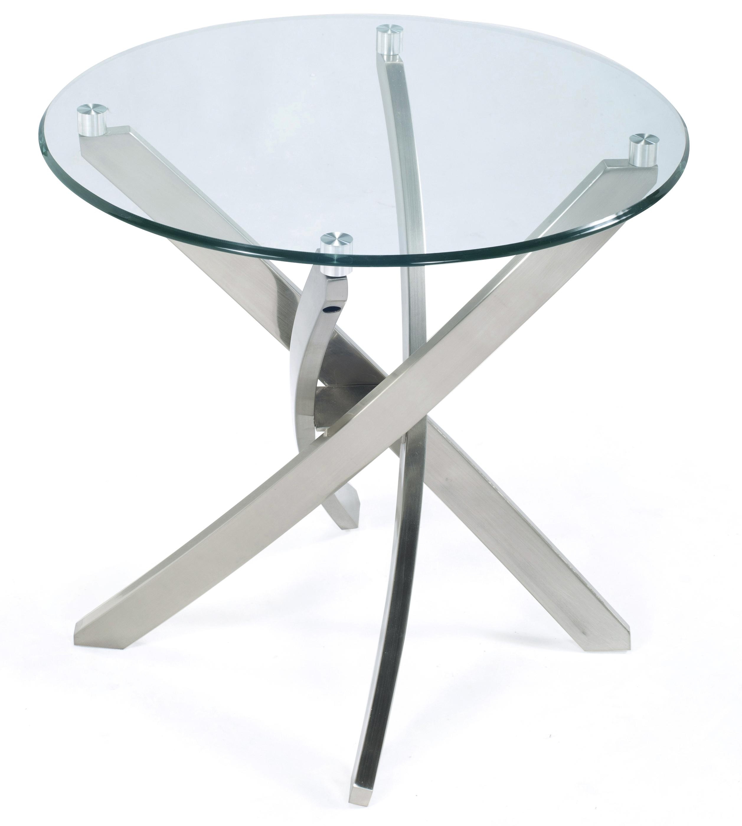 Zila Round End Table by Magnussen Home at Darvin Furniture