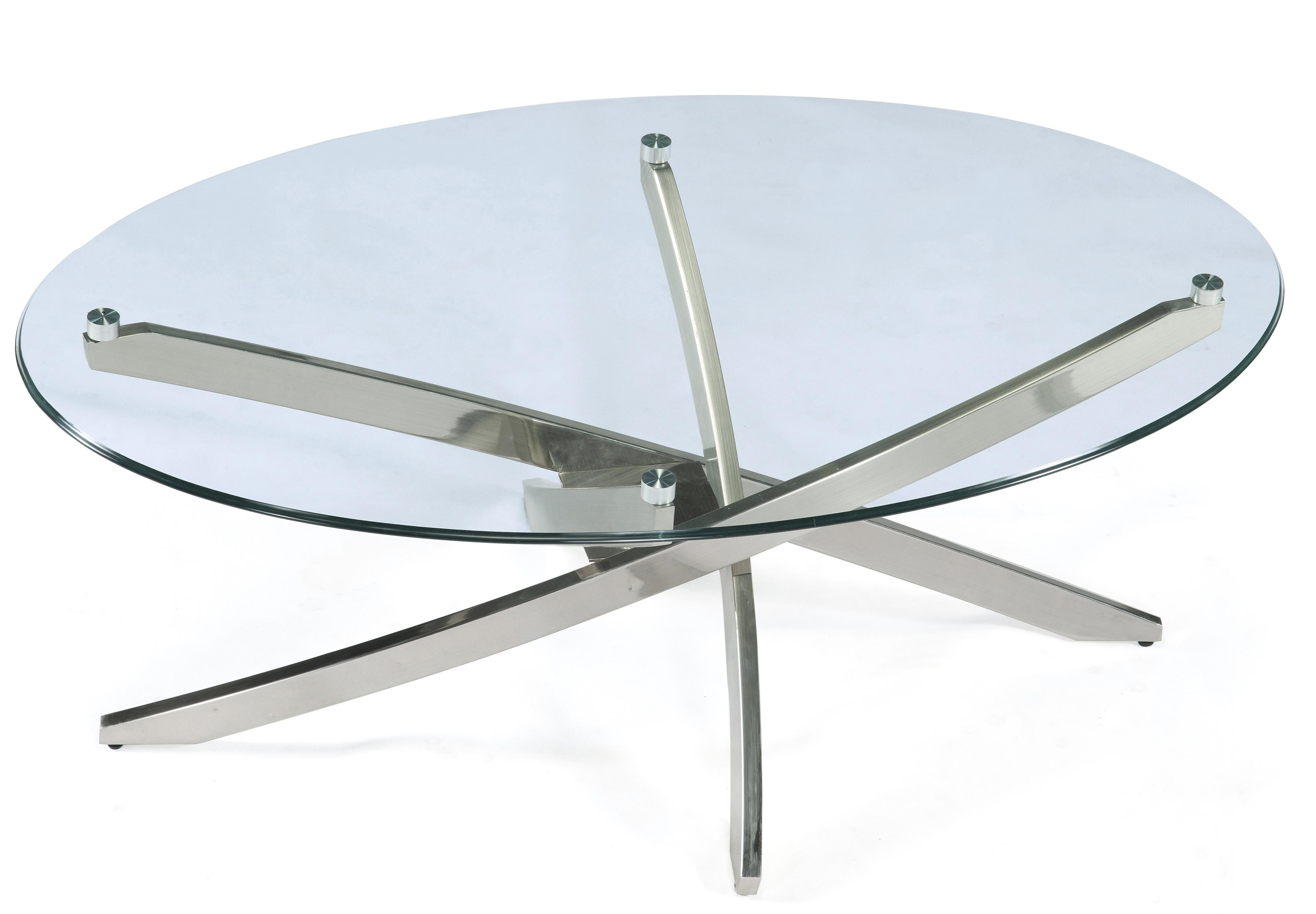 Zila Oval Cocktail Table by Magnussen Home at Darvin Furniture