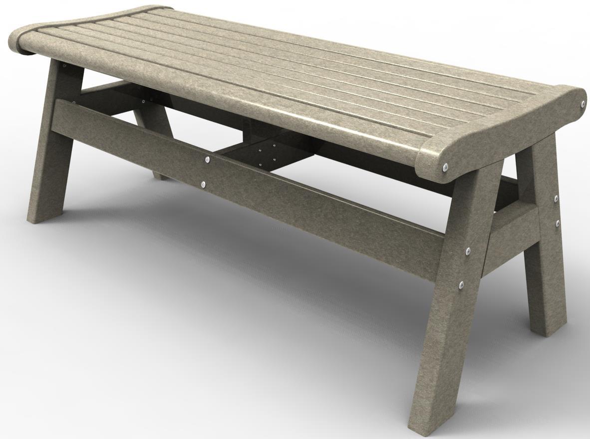 "Malibu Outdoor Furniture Newport 48"" Bench by Malibu Outdoor Living at Mueller Furniture"
