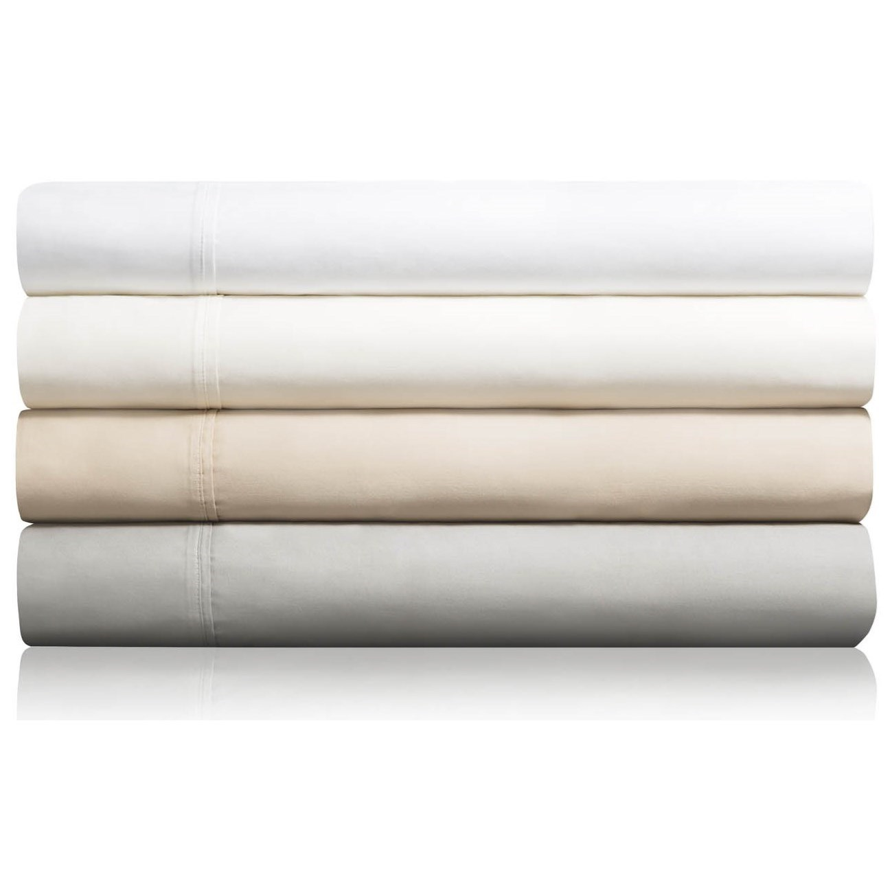 Cotton Blend Twin XL 600 TC Cotton Blend Sheet Set by Malouf at Northeast Factory Direct